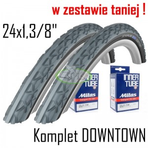 Komplet Schwalbe DOWNTOWN 24x1,3/8""